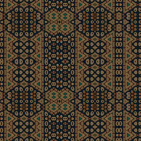 Celtic bravery navy bronze stripe fabric by wren_leyland on Spoonflower - custom fabric
