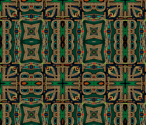 Rooms of Celtic Royalty fabric by wren_leyland on Spoonflower - custom fabric