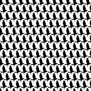 As the crow flies houndstooth small