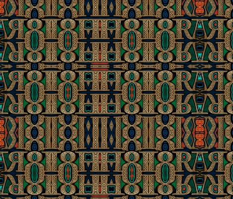 Celtic bravery plaid fabric by wren_leyland on Spoonflower - custom fabric
