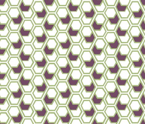 hex_pattern_529 fabric by katie_zelle on Spoonflower - custom fabric