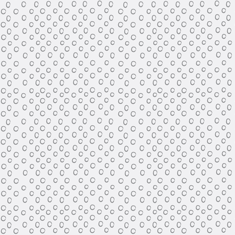 Gray Dots inverted fabric by anna_gregory on Spoonflower - custom fabric