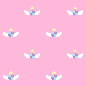 Pink Cute Crest