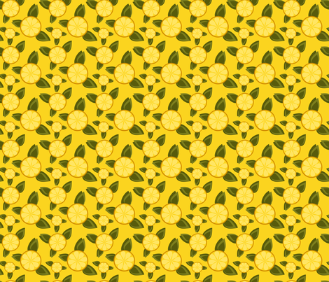 Bright & Sour fabric by eppiepeppercorn on Spoonflower - custom fabric