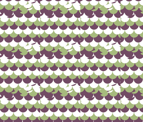 A Scallop Shift fabric by haleystudio on Spoonflower - custom fabric