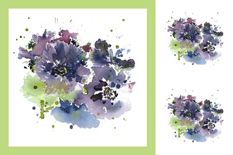 cestlaviv_PillowTalkCollection_anemone new 36x36 fabric by cest_la_viv on Spoonflower - custom fabric