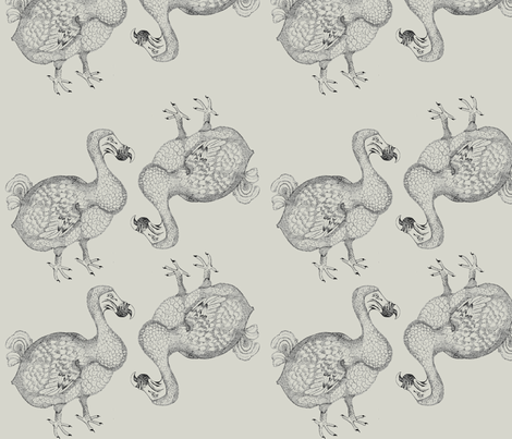 Dodo fabric by julia_canright on Spoonflower - custom fabric