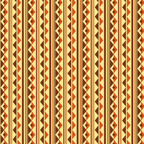 Geometry Wave - Earthy Brown