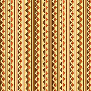 Geometry Wave - Earthy Brown