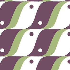 BIRD in Plum and Mint