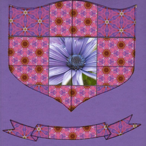 Flower Power Family Crest