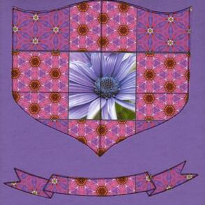Flower Power Family Crest
