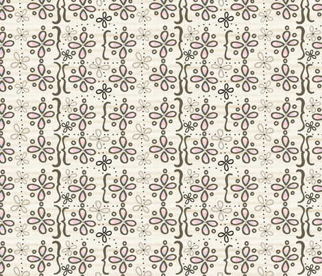 Mona's Dress fabric by lisabarbero on Spoonflower - custom fabric