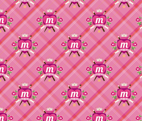 minimiel crest fabric by minimiel on Spoonflower - custom fabric