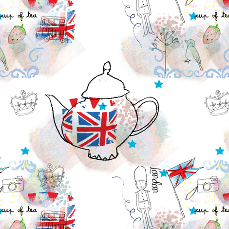 London_Repeat fabric by sandieg on Spoonflower - custom fabric
