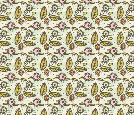 Morning Delight fabric by lisabarbero on Spoonflower - custom fabric