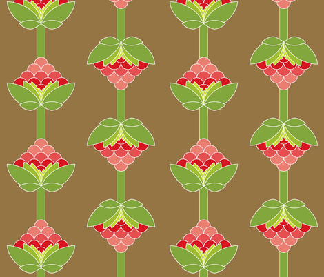 Cherry Bomb fabric by designedtoat on Spoonflower - custom fabric