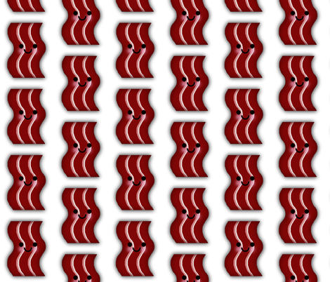 BACON fabric by scorpiusblue on Spoonflower - custom fabric