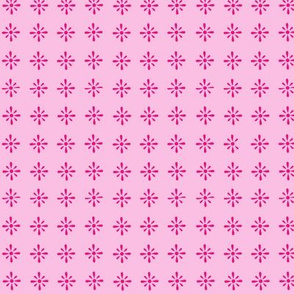 Small Floral Repeat pink