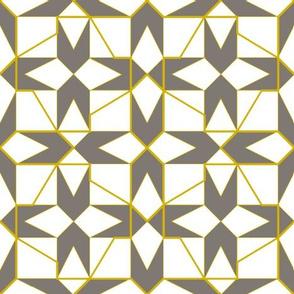 geometricks (taupe)