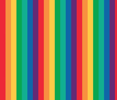 Rainbow! ROYGBIV fabric by myprettycabinet on Spoonflower - custom fabric