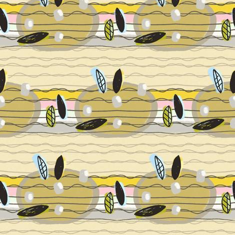 Blackbird's Ukelele fabric by lisabarbero on Spoonflower - custom fabric