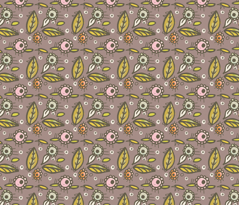 Evening Delight fabric by lisabarbero on Spoonflower - custom fabric