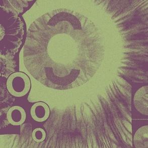 Collaged Circles