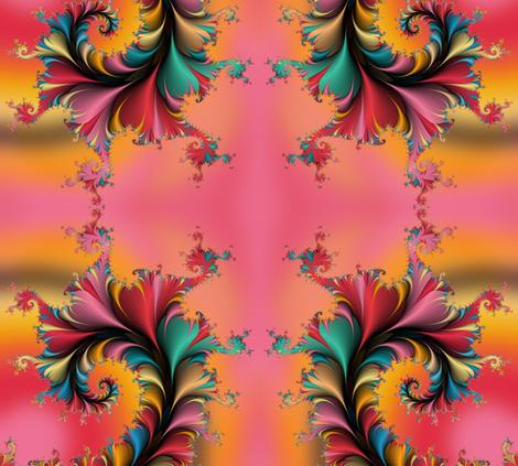 Fractal Garden fabric by joanmclemore on Spoonflower - custom fabric