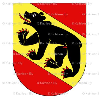 Kantone Bern Flag