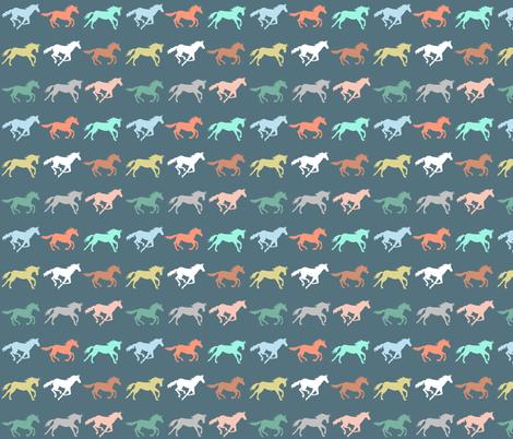 gallop fabric by katherinecodega on Spoonflower - custom fabric