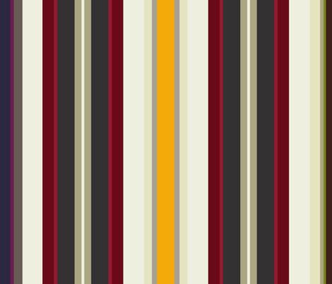 bear wolf geo stripe fabric by scrummy on Spoonflower - custom fabric