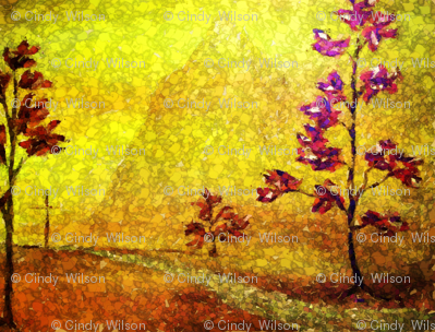 Flowers of Autumn by Cindy Wilson