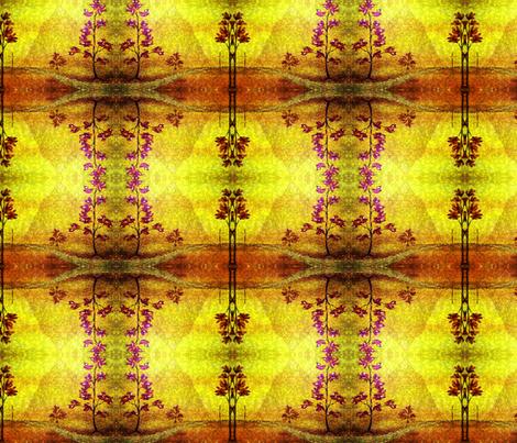 Flowers of Autumn by Cindy Wilson fabric by cindywilsonart on Spoonflower - custom fabric
