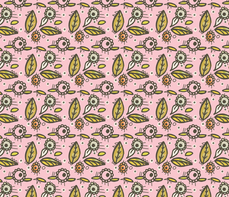 Dawn Delight fabric by lisabarbero on Spoonflower - custom fabric