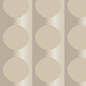 Beige Floating Ovals © Gingezel™ 2011