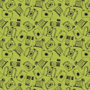 Chartreuse Camera