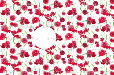 Hankie poppy dress template/pattern