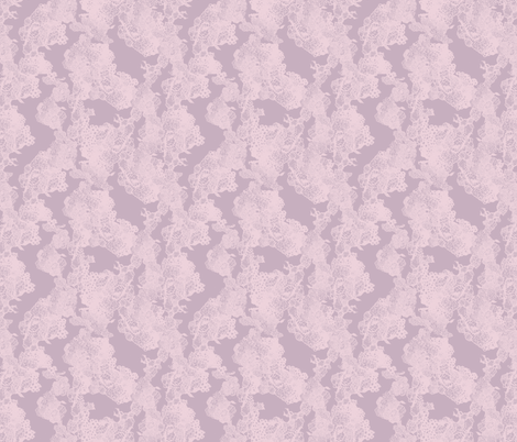 lace dusky pink fabric by katarina on Spoonflower - custom fabric
