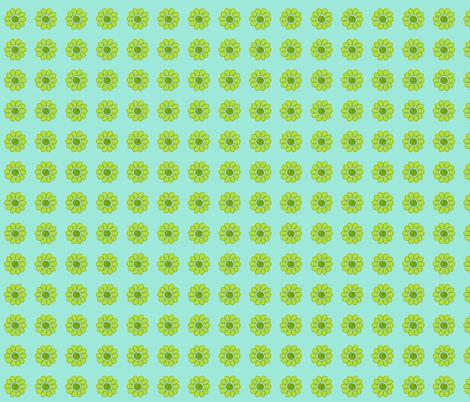 turtle_flower fabric by olioh on Spoonflower - custom fabric