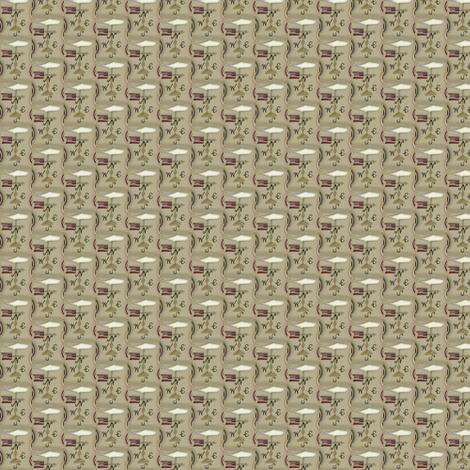 americana_whale_weathervane fabric by robin006 on Spoonflower - custom fabric