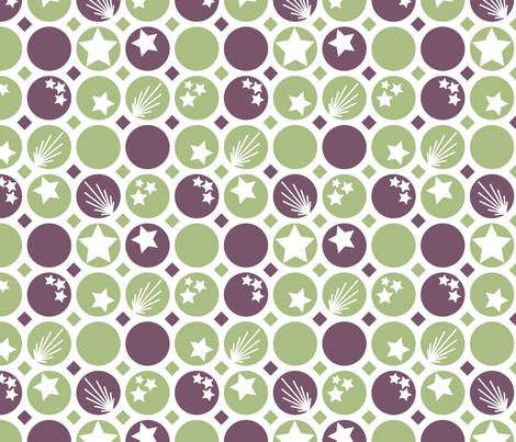 CirclesandStars fabric by bojudesigns on Spoonflower - custom fabric