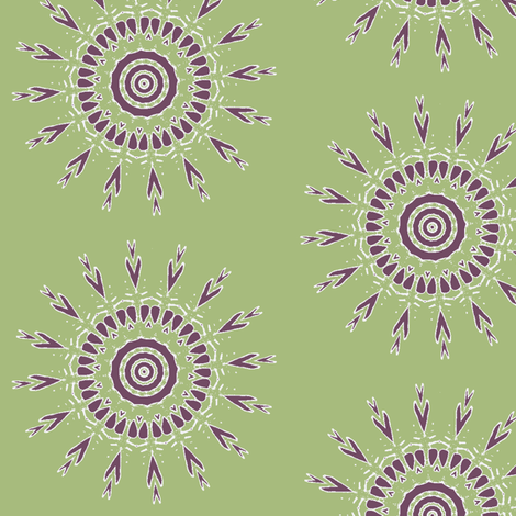 Inner Guidance 2 fabric by dovetail_designs on Spoonflower - custom fabric