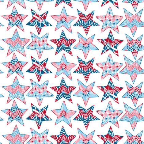 Chevron Spirit fabric by kfay on Spoonflower - custom fabric