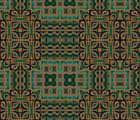 Bravery Celtic Room fabric by wren_leyland on Spoonflower - custom fabric