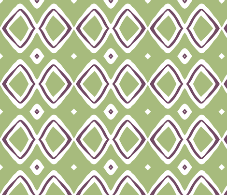Diamonds! (plum & sage) fabric by pattyryboltdesigns on Spoonflower - custom fabric