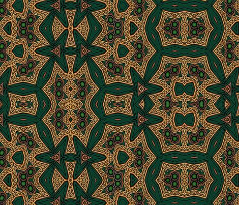 Celtic Bravery Dizzying Dance fabric by wren_leyland on Spoonflower - custom fabric