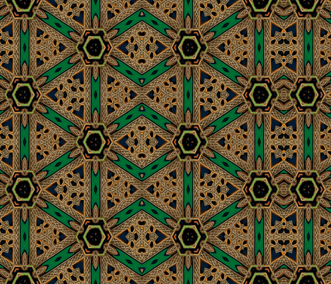 Building Celtic Connections fabric by wren_leyland on Spoonflower - custom fabric