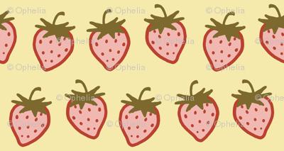 Cutie Strawberry Pattern Small