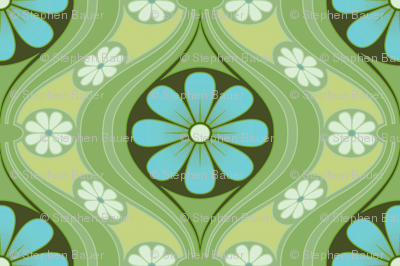 Daisy in Sea of Green